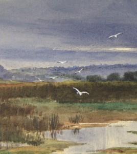 Aj J Couche British Landscape Artist